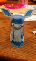 Glaceon Papercraft by WhiterStar