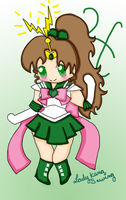 Sailor Jupiter by Ladykanasewing