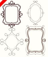 FREE doodle frames clip art by PicturesOfPelicans