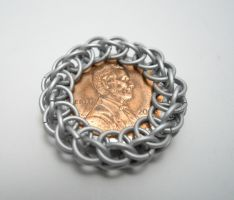 3/4 Persian Wrapped Penny by Zeroignite