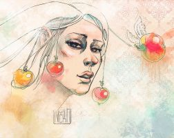 Apples by yourPorcelainDoll