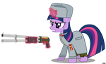 [RA Soviet] Starshina Twilight Sparkle by A4R91N