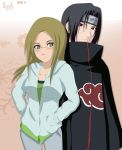 Me and Itachi from Naruto by tachiban18