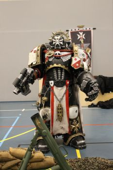 Black Templar Space Marine by BowmanCosworks