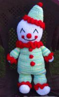 Knitted Clown by eightcrows