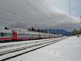Winter in Predeal by metrouusor