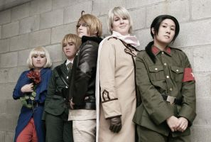 Hetalia - The Allies by dark1110