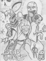 Zombie Star Wars by 2corpses