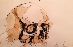 Skull 3 by AnnasFreeArt