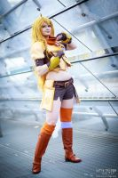Yang : RWBY by Lumis-Mirage