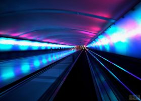 Detroit Airport by yongle