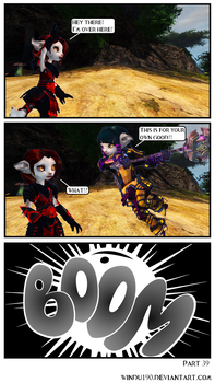A Skritty Situation 39 (Guild Wars 2 comic) by windu190