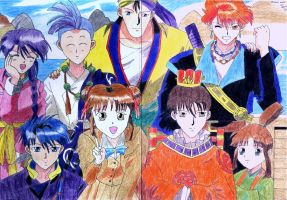 Fushigi Yugi Grup by Sailorferchy