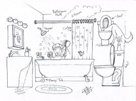 Draw Bathroom Stuff by Diana-Huang