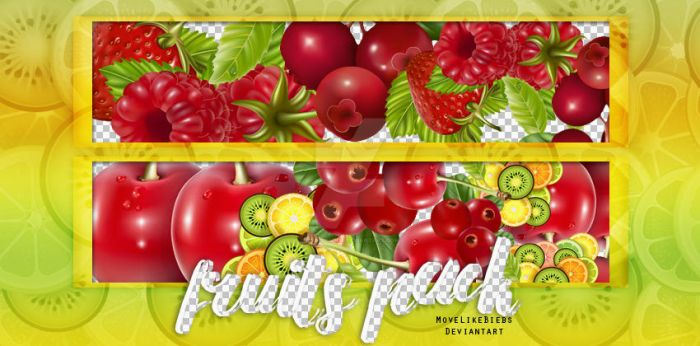 +Fruits PNG Pack by MoveLikeBiebs