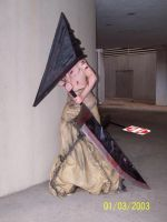Pyramid Head Costume by AshGroovy