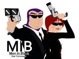 MIB Agent B and J by TheSpaceCowgirl
