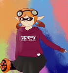 Splatoon Inkling by TheninjaOshawott
