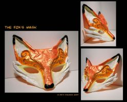 The Fox's Mask by SpaceTurtleStudios