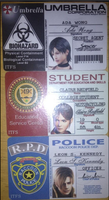 my resident evil IDs by deangagaTR