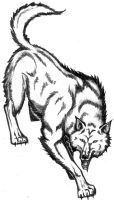 Wolf by Javen
