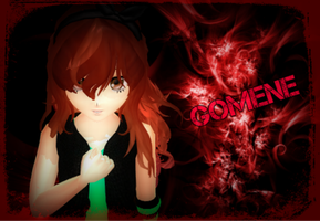 MMD-Gomene by TaniaVocaloid