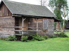 lil log house by JensStockCollection