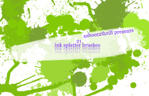 Splatter Brushes by xshoot2thrill
