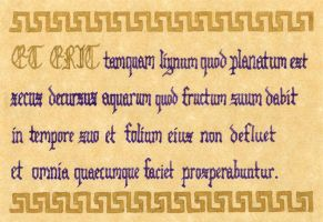Psalm 1:3 in Latin by Young-Jacob