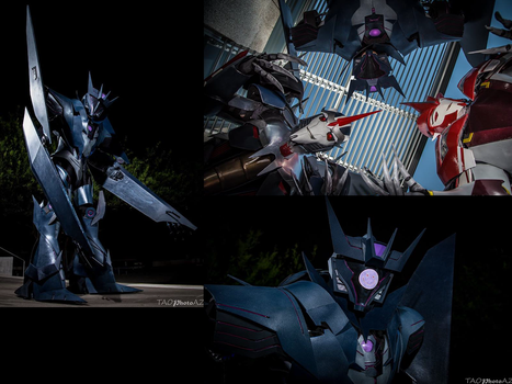 TFP - Decepticon Photoshoot by TheWhovianHalfling