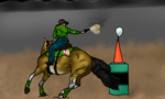 Chico Mounted Shooting Entry by Starcather9
