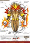 L'Pokedex 244 - Entei FR by Pokemon-FR