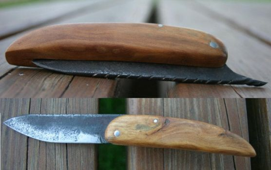 Rural Folding Knife by KajiyaEol