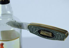 Flying Scotch Man Penknife ... by Vincent-Malcolm
