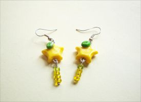Paopu Dangle Earrings by LittleCharms
