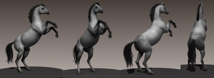 Prancing Horse (work in progress) by monstre210