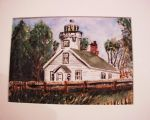 Light house watercolor by AG88