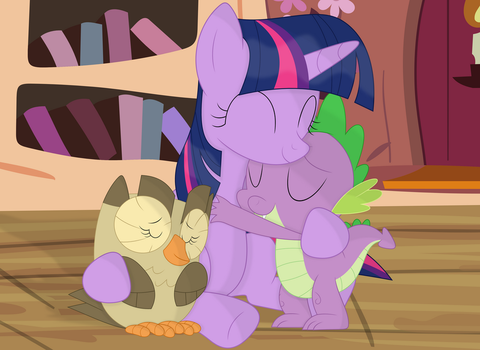 You two are the best assistants i ever had by Porygon2z