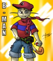 B-Man the Meowth Anthro by Arbok-X