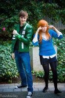 Ben 10 and Gwen by HenryTheDoctor