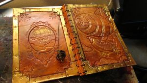 The Atlas - Leather Book by StudioGruhnj