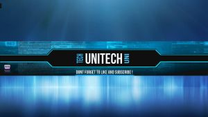 Unitech Youtube banner by Beachyy
