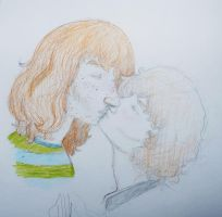 Another kiss by beriquito