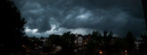 Incoming Storm - Pano by kriegs