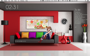 Mac Desktop - November by Sana--K