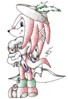 POT collab - Knuckles Scarlet by Mew-Mew-Rocky