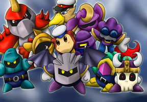The Meta-Knight Crew by Riadorana