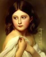 Young Charlotte of Belgium by SeelederZukunft