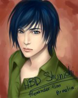 Alex for HBD Shunichi by Armelia