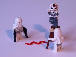 Snow Troopers - Snakephobia by mckatalyn